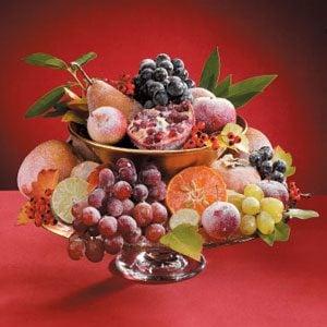 Sugared Fruit Centerpiece
