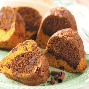 Chocolate Chip Pumpkin Cake