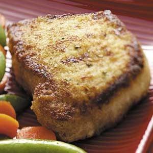 Orange Breaded Pork Chops