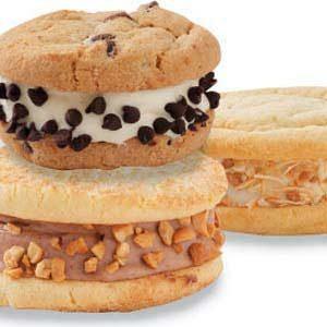 Homemade Vanilla and Chocolate Ice Cream Sandwiches