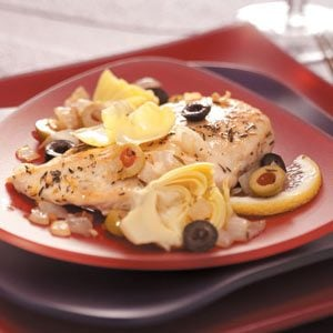 Zesty Chicken with Artichokes