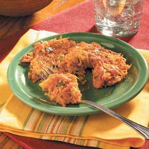 Parsnip Sweet Potato Pancakes
