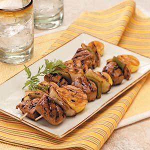Pork 'n' Veggie Kabobs