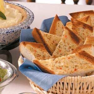 Herbed Bread Slices