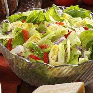 Simple Italian Tossed Salad