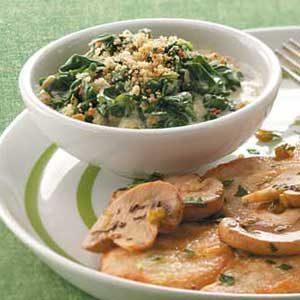 Creamy Parmesan Spinach