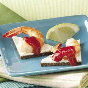 Shrimp Canapes