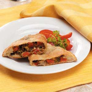 Meatless Calzones