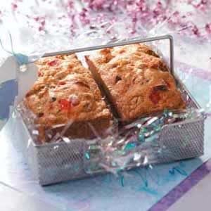 Maraschino Cherry Mini Loaves