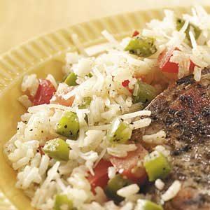 Parmesan Vegetable Rice