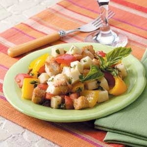 Crispy Crouton Salad
