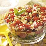 Antipasto Salad with Basil Dressing