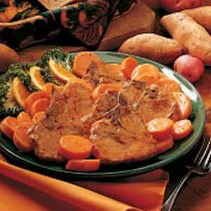 Pork and Sweet Potatoes