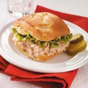Tangy Tuna Bunwiches
