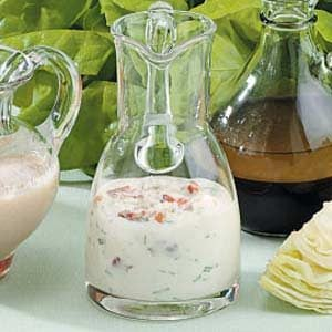 Easy Blue Cheese Bacon Dressing