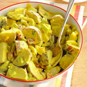 Honey-Mustard Potato Salad