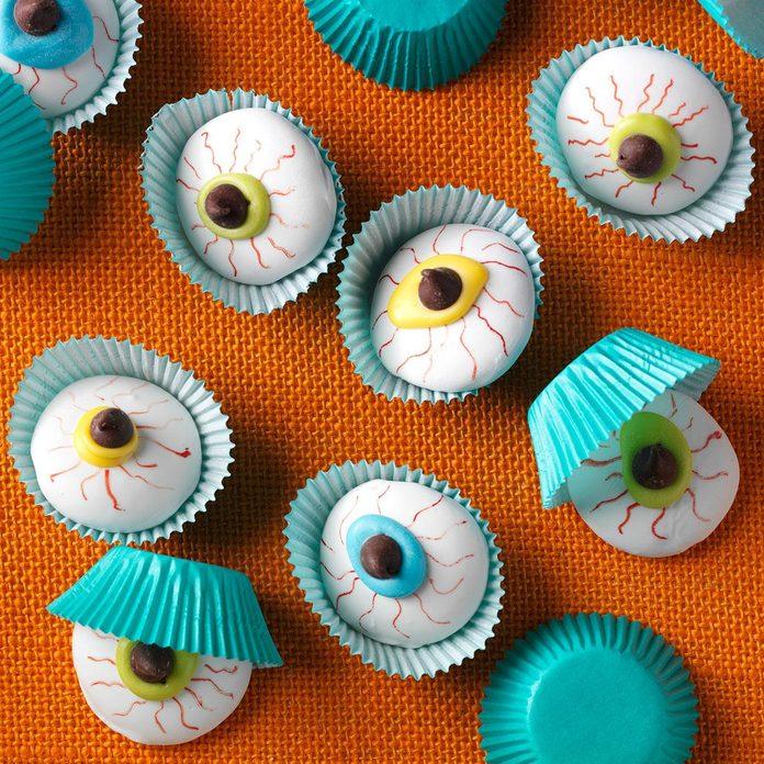 Ohio: Eyeball Cookies