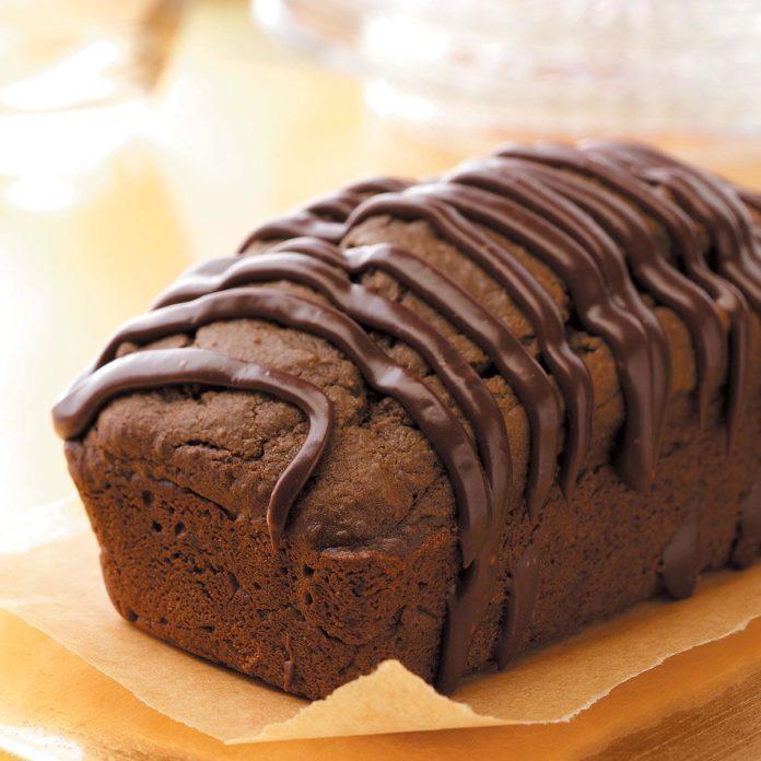 Triple-Chocolate Quick Bread