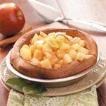 High-Rise Apple Pancake