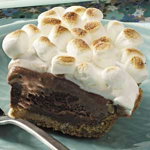 S'more Ice Cream Pie