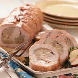 Pear 'n' Prosciutto Pork Loin