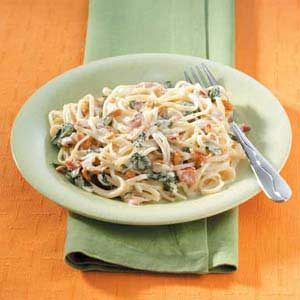 Linguine with Garlic Sauce