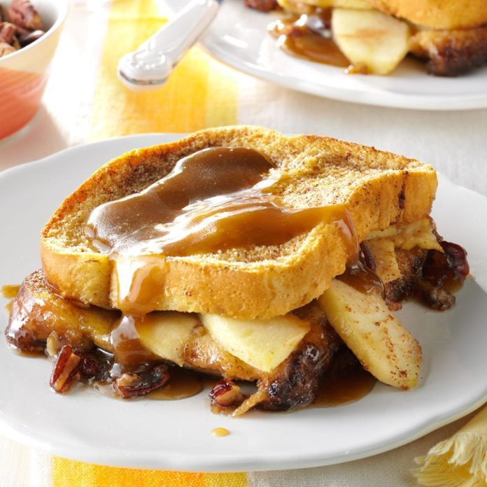 Kentucky: Apple-Stuffed French Toast Bake