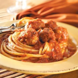 Spicy Meatballs with Sauce