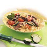 Italian Beef with Spaghetti