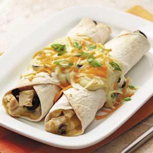Makeover Chicken Cheese Enchiladas
