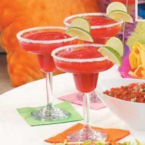 Mock Strawberry Margaritas