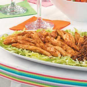 Spicy Seasoned Chicken