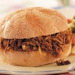 Shredded Beef 'n' Slaw Sandwiches