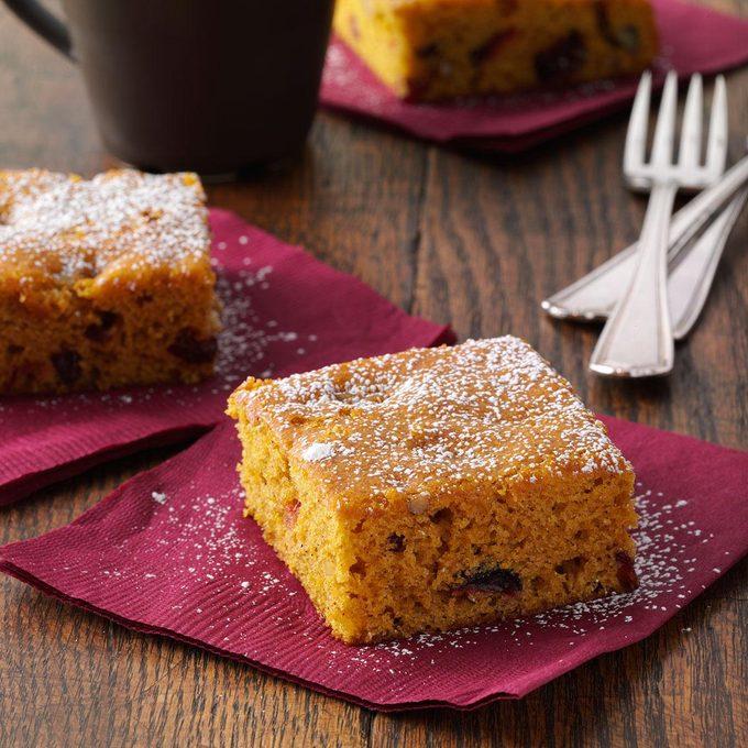Cranberry-Pumpkin Spice Cake