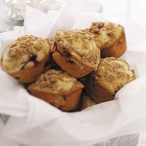 Cran-Orange Streusel Muffins