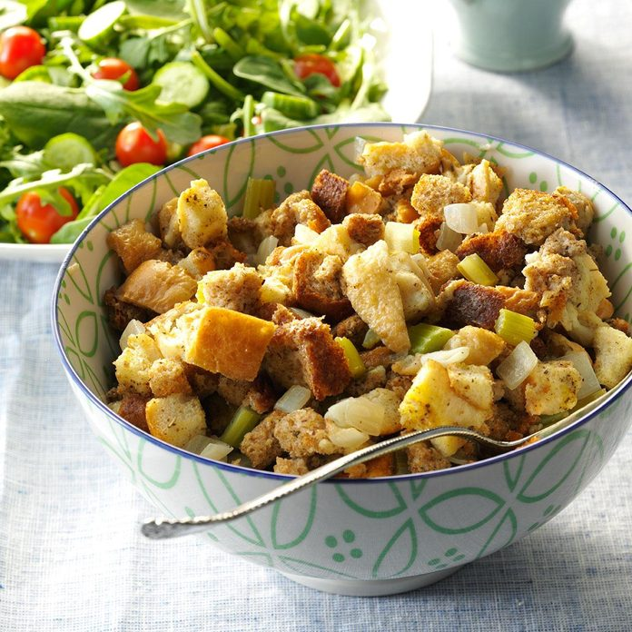 Stuffing from the Slow Cooker