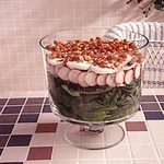 Simple Layered Spinach Salad