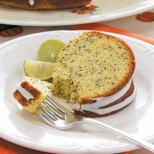 Lemon-Lime Poppy Seed Cake