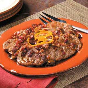 Cran-Orange Pork Medallions