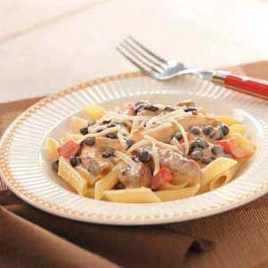 Southwest Bean and Chicken Pasta