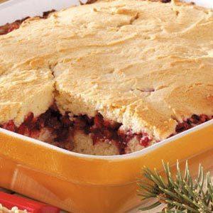 Cranberry-Sour Cream Coffee Cake