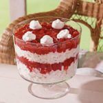 Heavenly Cherry Angel Food Trifle