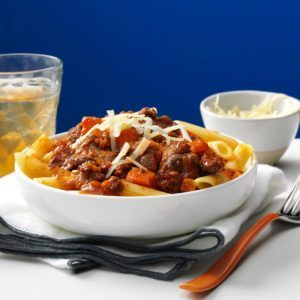 Turkey Portobello Bolognese