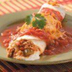 Two-Cheese Turkey Enchiladas