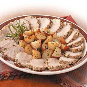 Rosemary Pork and Potatoes