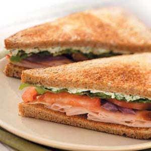 Special Turkey Sandwiches