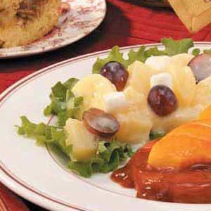 Three-Fruit and Marshmallow Salad