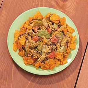 Pasta Taco Salad