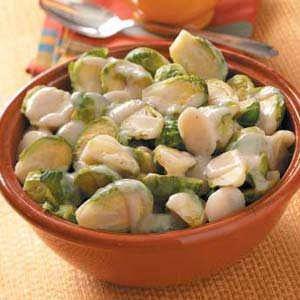 Sprouts with Water Chestnuts