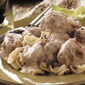 Sour Cream Meatballs